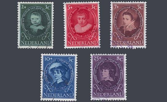 oude kinderpostzegels